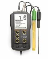 HI-83141 pH Meter with Electrode and Temperature Probe